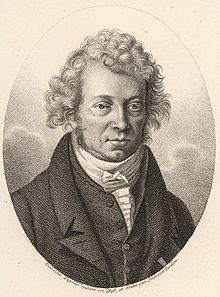 André-Marie Ampère, from whom ampere takes its name, in 1825 [Image source: Wikipedia].